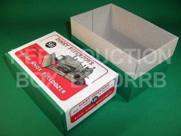 Dinky #561 (961) Blaw Knox Bulldozer - Reproduction Box